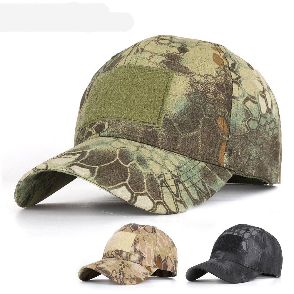 Haute qualité printemps Snapback camouflage tactique Chapeau Patch Armée tactique casquette de baseball des hommes Camo Chapeau de camionneur réglable chapeau de papa