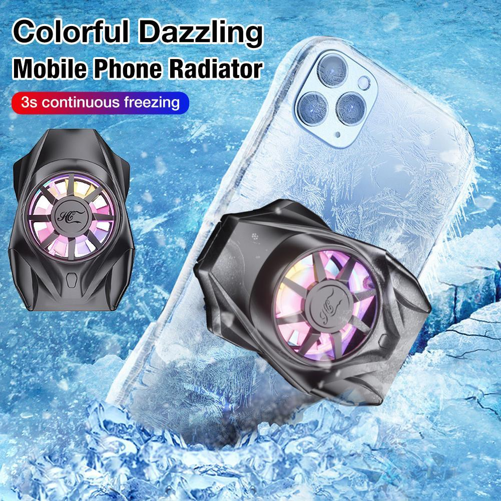Portable Cooling Fan Game Mobile Phone Radiator Heat Sink Cooler USB Powered Cell Phone Cooling Pad For IPhone Samsung Xiaomi