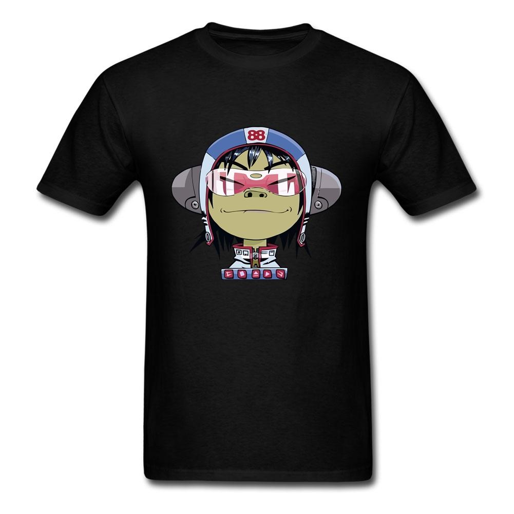 Gorillazs Tees Hemd Aussenseiter-T-Shirt Kurzarm aus reiner Baumwolle O-Hals-T-Shirt für Jungen-3D Druck-Kurzschluss-Hülsen-Kleidung für Männer
