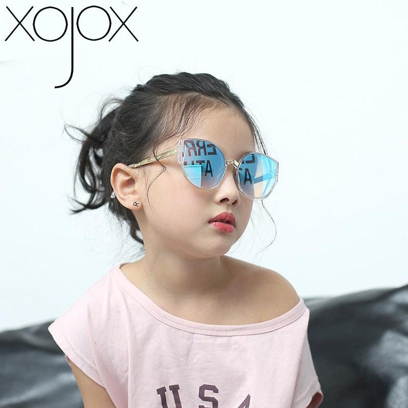 Brand Design Gato XojoX Eye CRIANÇA ÓCULOS Vintage Children óculos de sol de luxo Rapazes Meninas Shades Eyewear
