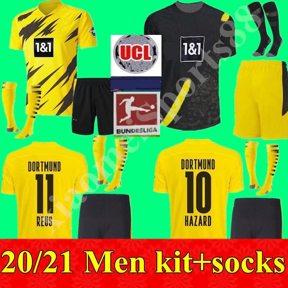 2020 Borussia 2020 2021 Men Kit Dortmund Haaland Soccer Jerseys 20 21 Hazard Gotze Reus Witsel Paco Alcacer Third Set Football Shirt From Jerseybaseball001 19 49 Dhgate Com