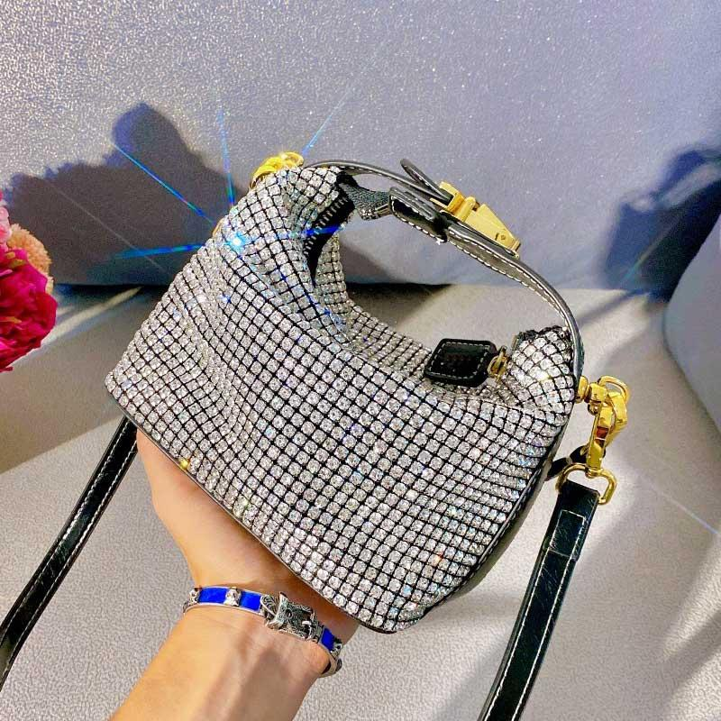 Synthetic Diamond Crossbody Women Shoulder Bag New Arrival Woman High Quality Women Handbags Purse Ladies Hand Bags
