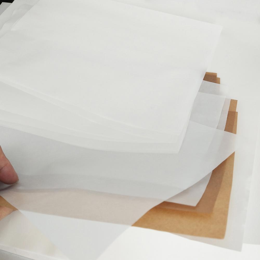 Antiaderente Oil Paper Dab Ferramenta Wax Oil Paper Dab Rig Baking Mat para Jar Wax seco papel manteiga vaporizador Bong Herb Vidro