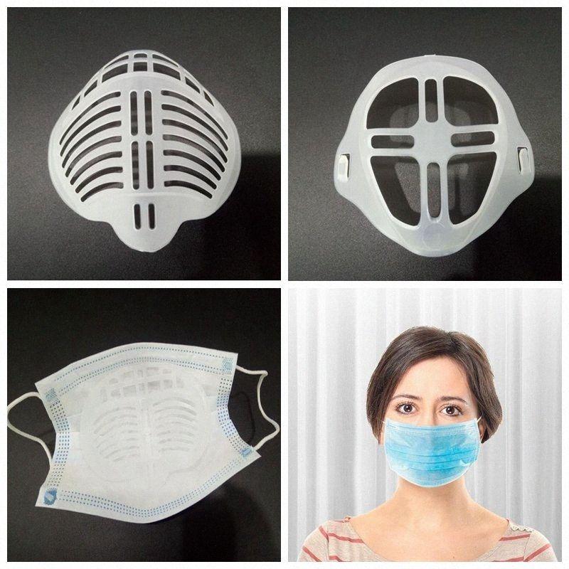 3D Ağız Maskesi Destek Nefes Yardım İç Yastık Parantez Food Grade Silikon Maske Tutucu Nefes Vana YYA361 LyLu # Maske Assist
