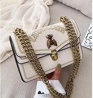 El diseñador del bolso femenino 2020 nuevo nicho de llegada Bolsas Cruzado hombro Moda de lujo bolsa pequeña abeja bolso salvaje 8Y2U #