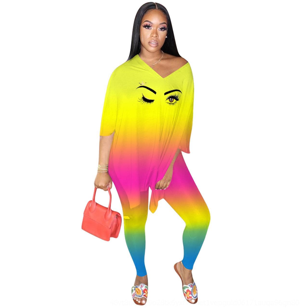Uj6r2 cmYSm cor grafite cor do terno Moda Gradiente impresso pichações impressa moda gradiente roupas terno das mulheres de roupas femininas