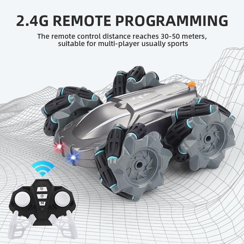 RC Drift Stunt Car 4WD Radio Control Climbing 360 Rotate RC Car Electric Car High Speed Climbing Off Road Vehicle Toys
