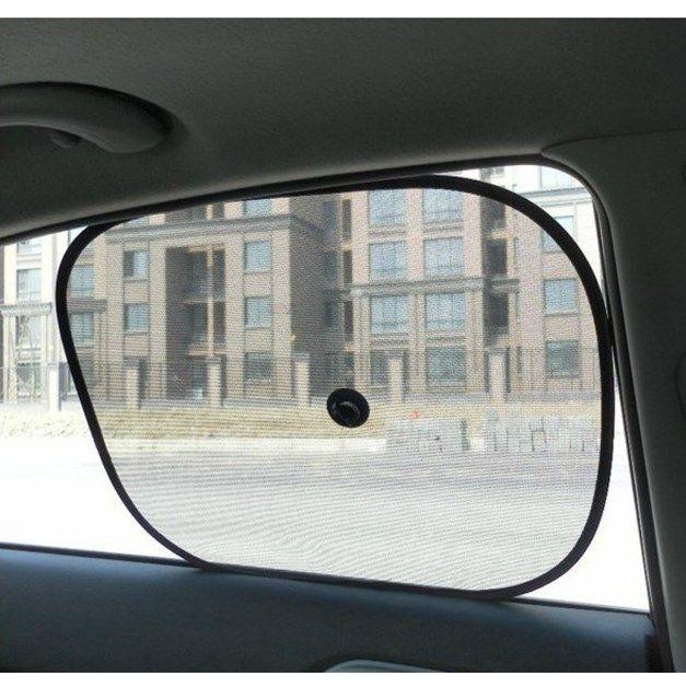 окна автомобиля Зонта Window 2x черных Дети Детских Дети автомобиль Защита от ультрафиолетовых лучей Blind сетки ВС Оттенки Твин груз падение 18 сентября 21