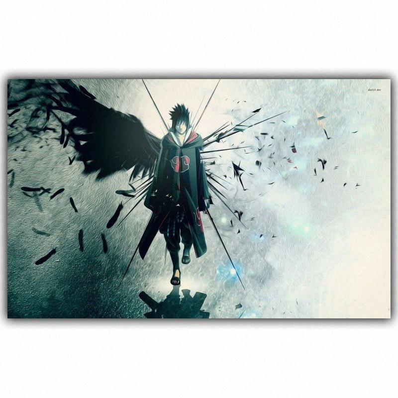 Naruto Poster Popular clássico japonês Anime Home Decor Silk Impressão Imagem Imprimir Wall Decor 30x48cm 50x80cm eNwf #