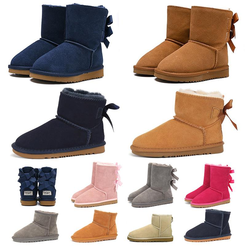 new designer snow boot for woman girl ankle knee high luxuries fur sneakers trainers lady womens winter boots platform shoes