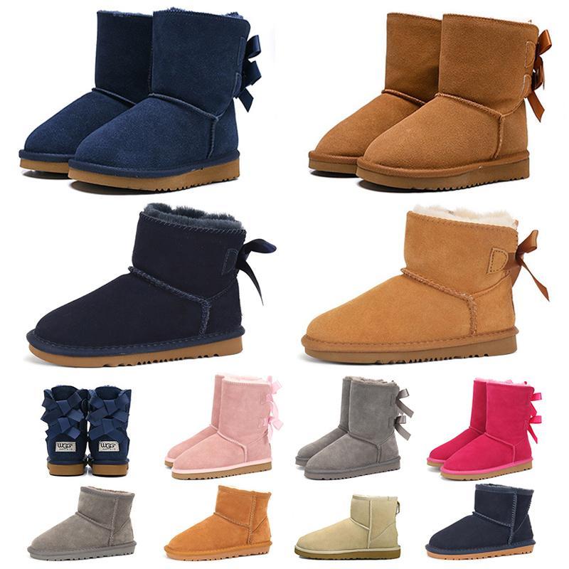 u designer gg botas de nieve para mujer niña tobillo hasta la rodilla zapatillas de deporte de piel de lujo zapatillas de deporte dama invierno zapatos de plataforma