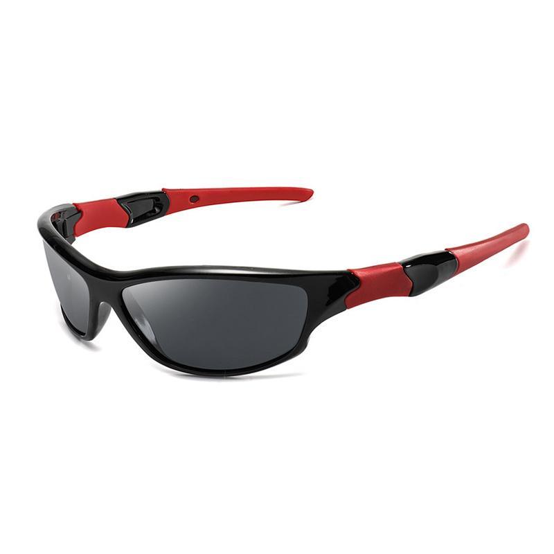 Occhiali da sole polarizzati Sport Escursionismo Uomini tattico di vetro Donne Campeggio Climbing Occhiali Caso camuffamento con la