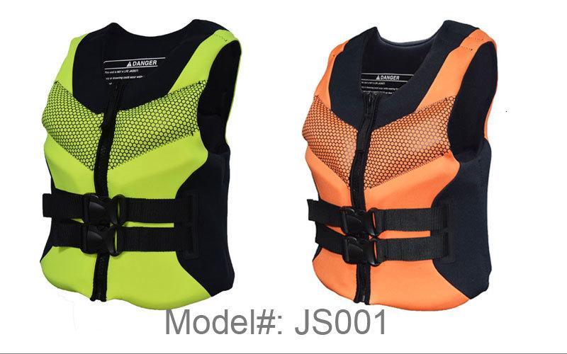 Las mujeres de la vida adulta chaleco de pesca Navegación surf natación deriva Guardar chaqueta de los hombres de alta calidad para los jóvenes de neopreno espuma Max 4XL