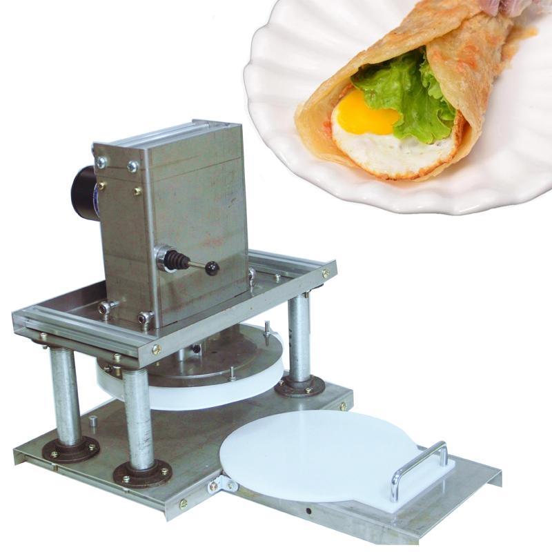 chaohuoLB-21 de aço inoxidável comercial Eléctrica tortilha prima máquina tortilha máquina de fazer pizzas comercial massa pressionando máquina