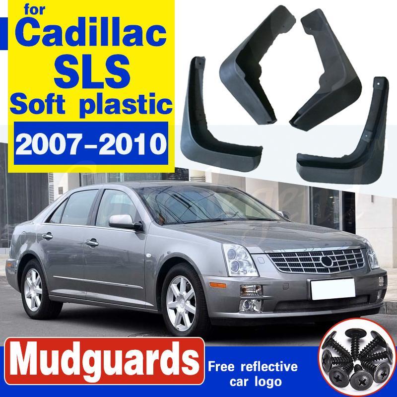 Auto-Schmutzfänger für Cadillac SLS 2007-2010 Fender Mud Schutzklappe Splash Klappen Kotflügel Auto Vorderrad Hinterrad Zubehör 2008 2009
