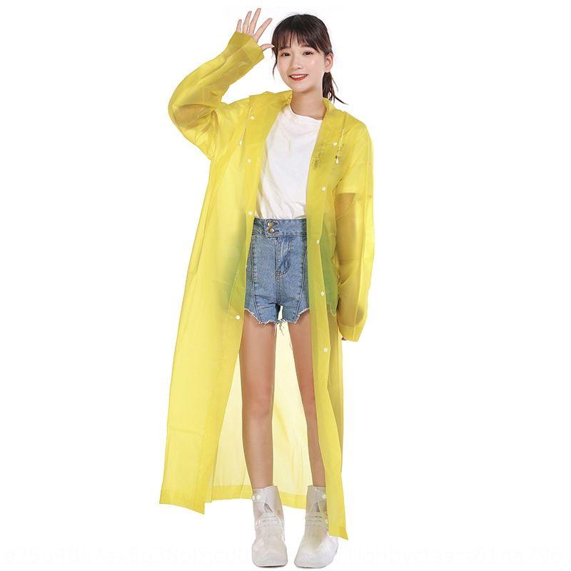 PwtT5 SgKB3 Yanli Wandern Art und Weise Mantel EVA Schutzregenmantel Herren-Schutz- und verdickte Mantel der Frauen einteilige Erwachsener reisen Regenmantel b