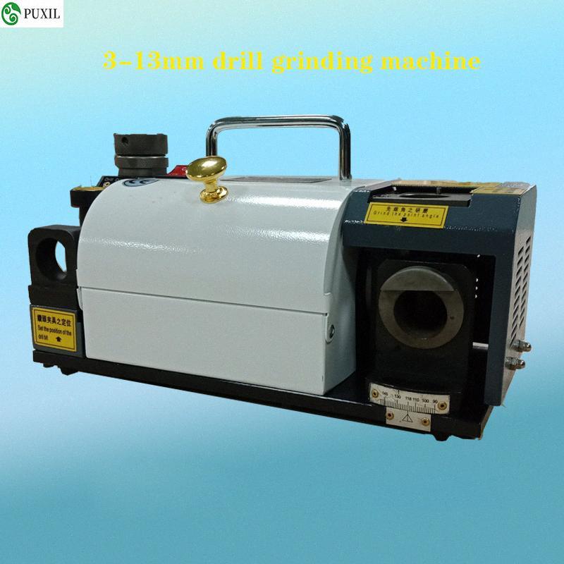 GD-13 elettrico Fresa Grinder Drill Temperino Affilatrice Punta di trapano macchina per la frantumazione 220V 120W 6400rpm 2-13mm Gt5F #