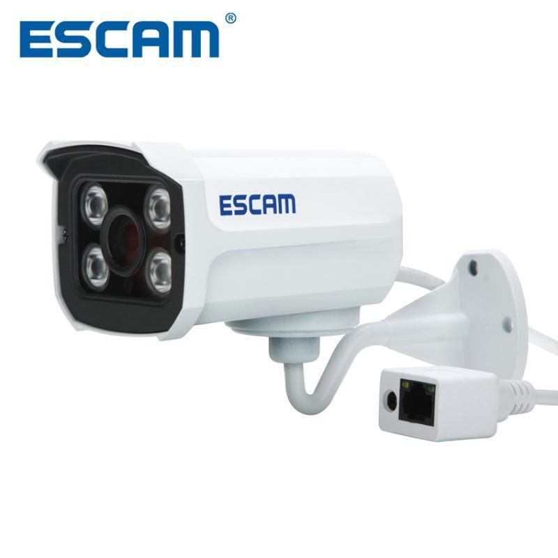 Escam Brick QD300 POE ONVIF HD 1080P P2P Cloud IR Security IP Camera POE IP66 Waterproof Upgraded Version