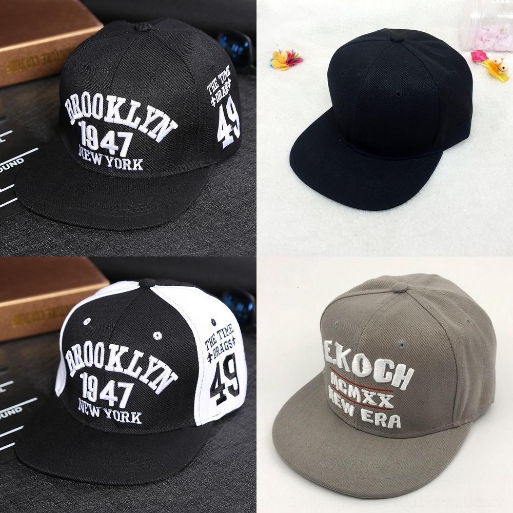 мужские Wo Хип-хоп бейсбол Flat бейсбол корейский хип-хоп Hat шапка модно Корейский стиль лета вскользь крышки женщин Открытый плоский шлем cC4Z2