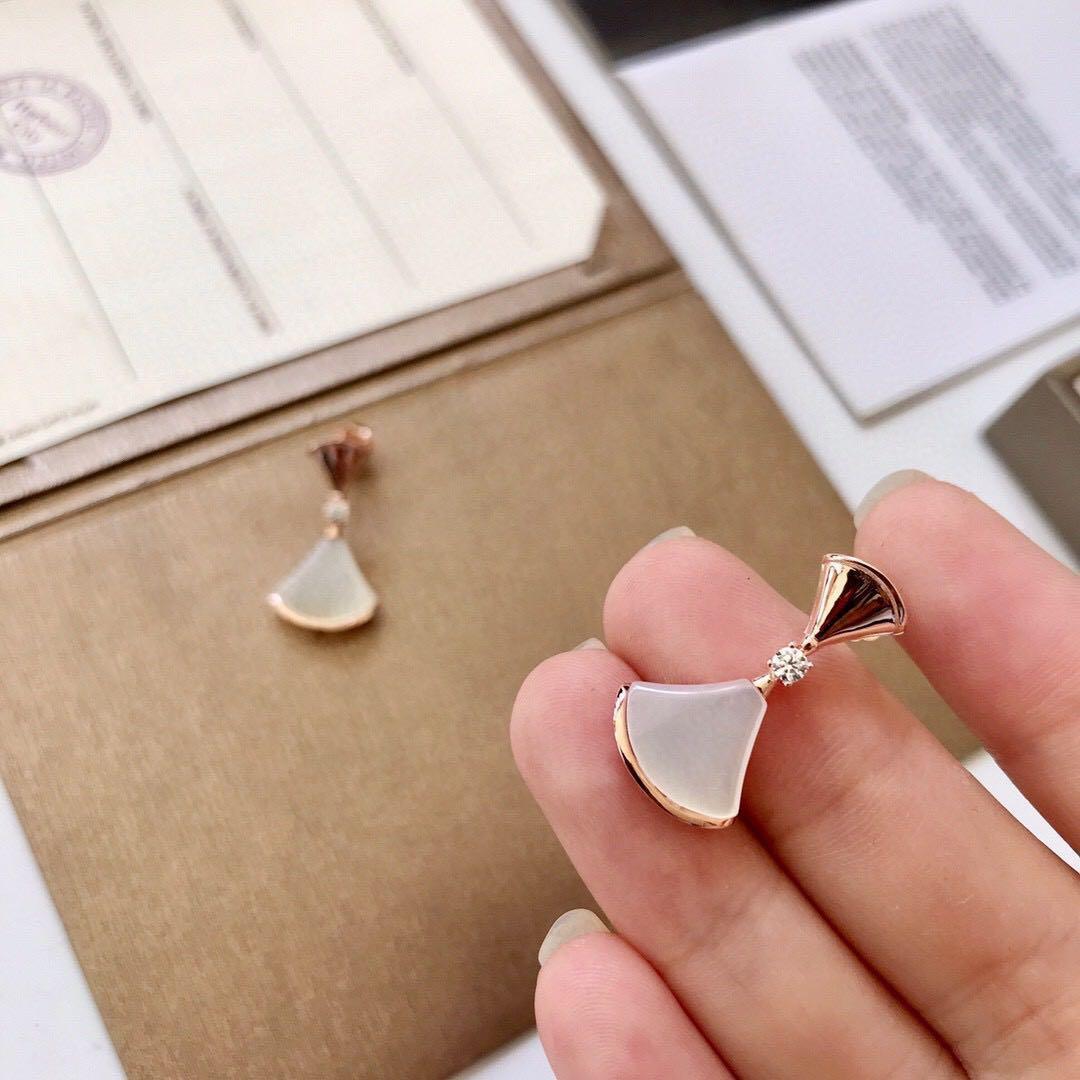 lüks tasarımcı takı kadın küpe Paslanmaz Çelik gümüş kutu 14 ile altın 18k altın elagant anahtar damızlık moda sty gül damızlık küpe kilidi