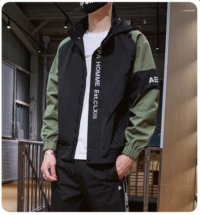 Herbst-beiläufige Kleidung der Männer Designer Tracksuits Mode Brief Stickerei Street Sports Styles 2ST Sets Frühling