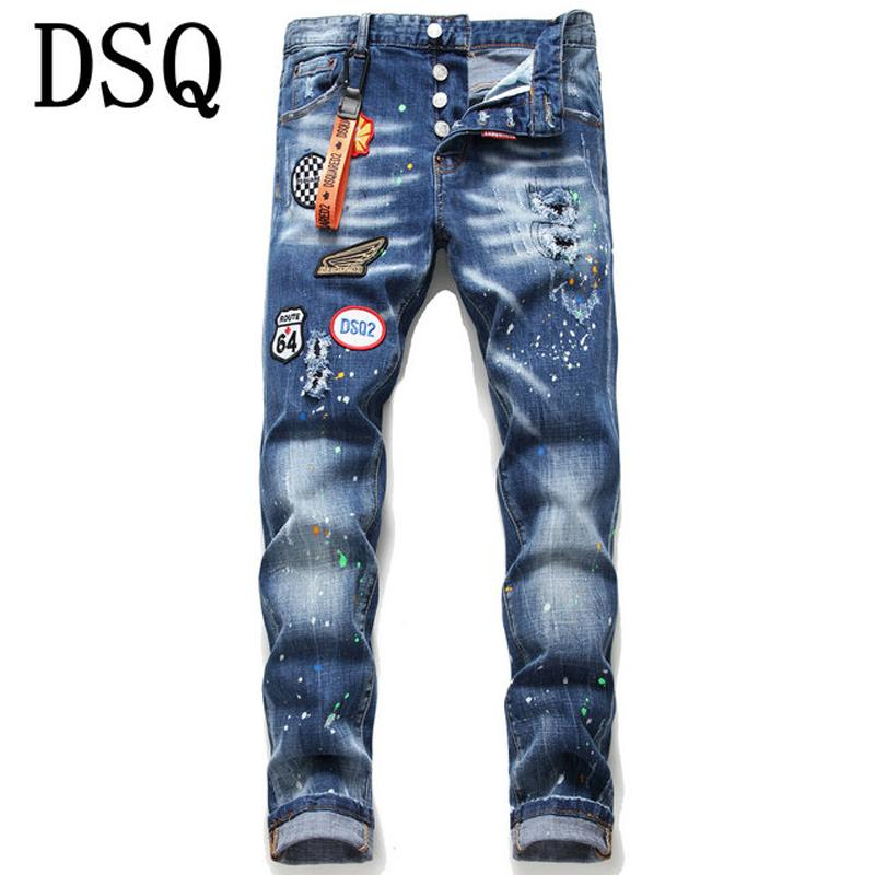 2020 2020 Good Quality Mens Distressed Ripped Biker Jeans Slim Fit Motorcycle Biker Denim For Men Fashion Hip Hop Mens Jeans Ultra Boost 09 From Shoes Factory02 32 9 Dhgate Com