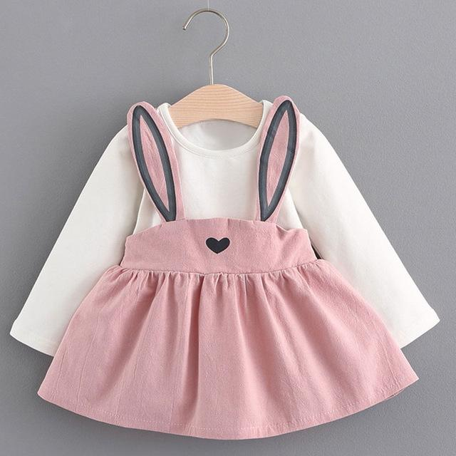 ropa del bebé recién nacido de moda diseñador de ropa linda del bebé del niño infantil vestidos de niña de 3-24 meses de venta y barato