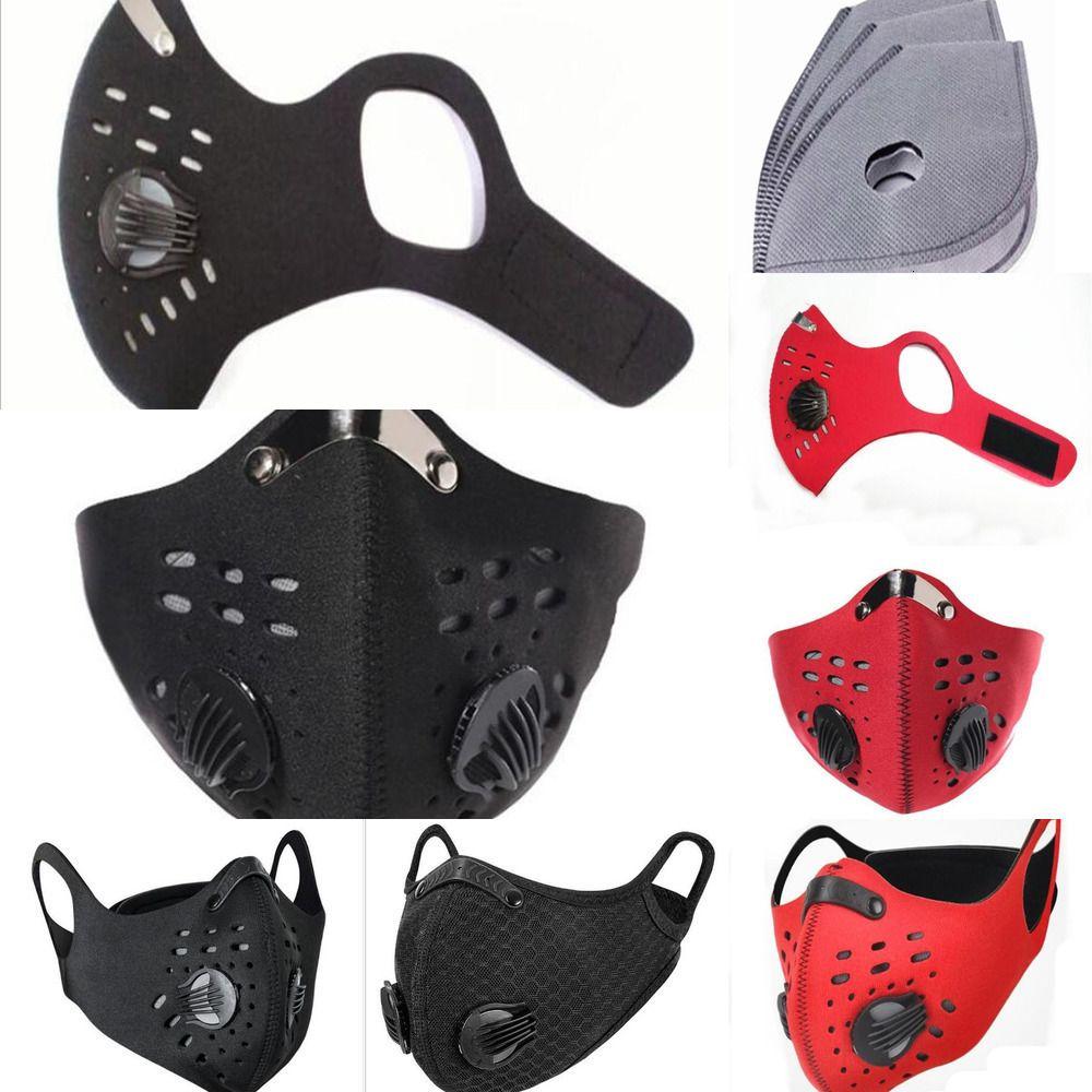 Protection Pcs 1 demi-formation Hom visage ménages masque anti-pollution en cours Activat1h8r A1ti