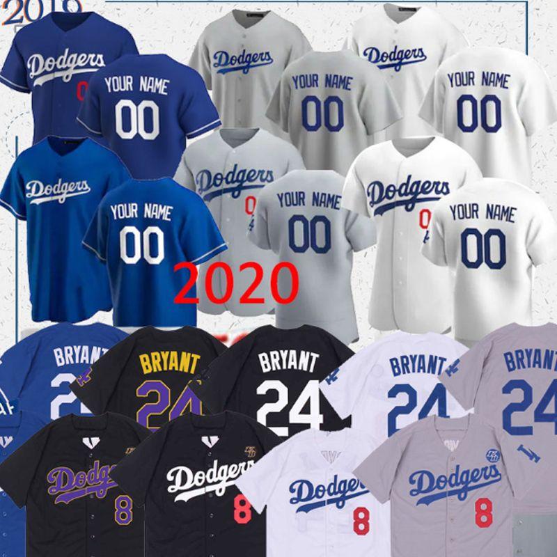 Dodgers Jersey Mookie Betts 50 35 22 Cody Bellinger Clayton Kershaw 14 Enrique Hernández 31 Joc Pederson encargo del béisbol camisetas de Tailandia