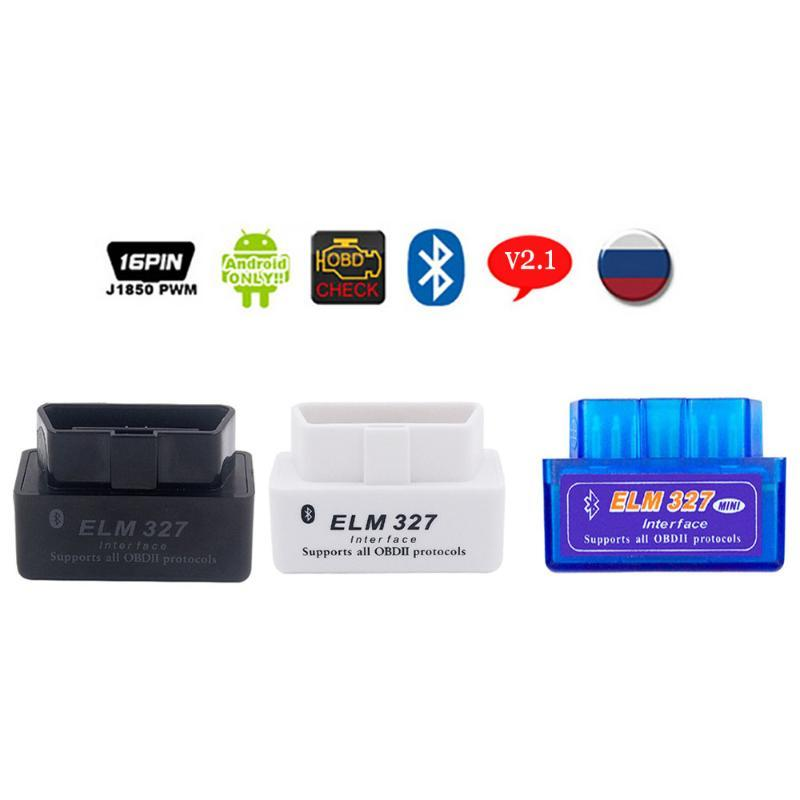 ELM 327 OBD2 Scanner For E39 E46 E90 E60 E61 F34 F10 X3 V2.1 ELM327 Interface Bluetooth OBDII Scanner Car Diagnostic Tool
