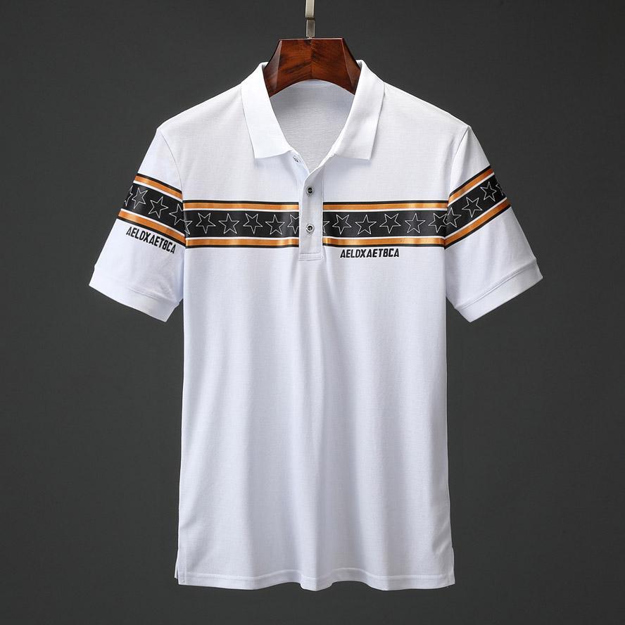 Nuovo Brand New camicia mens di stile di polo Top Crocodile ricamo uomini manica corta camicia di cotone maglie polo camicia degli uomini caldi di vendita di abbigliamento