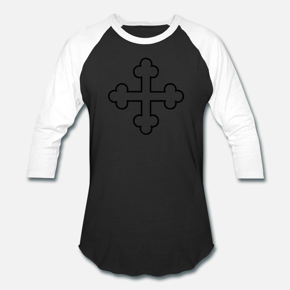 Orthoox Croce uomini della maglietta stampa 100% di lettere di estate di modo La luce del sole camicia di cotone S-XXXL Normale