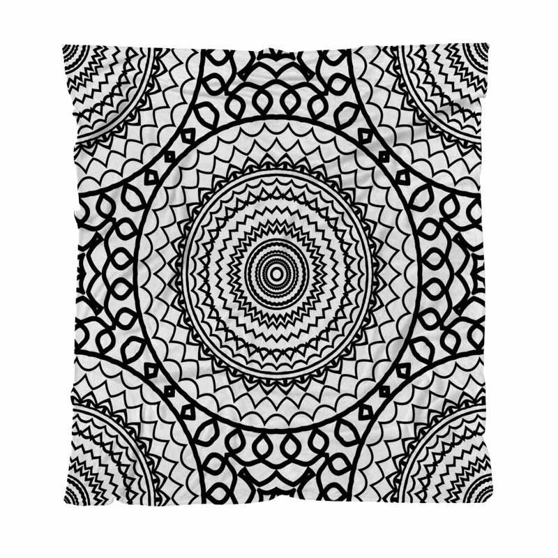 Abstracto caliente el paño grueso y suave de la franela Fondo de la toalla Mantas abstracto sin fisuras con lanzamiento de encaje manta suave microfibra suave manta cama
