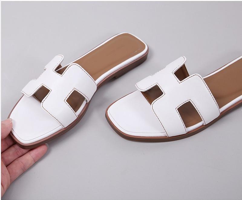 Kadınlar Sandalet Bir Yıldız Slayt terlik siyah sarı gündelik ayakkabı Yaz Klasik Plaj Sandal spor flip flop boyutunu 36-40 womens