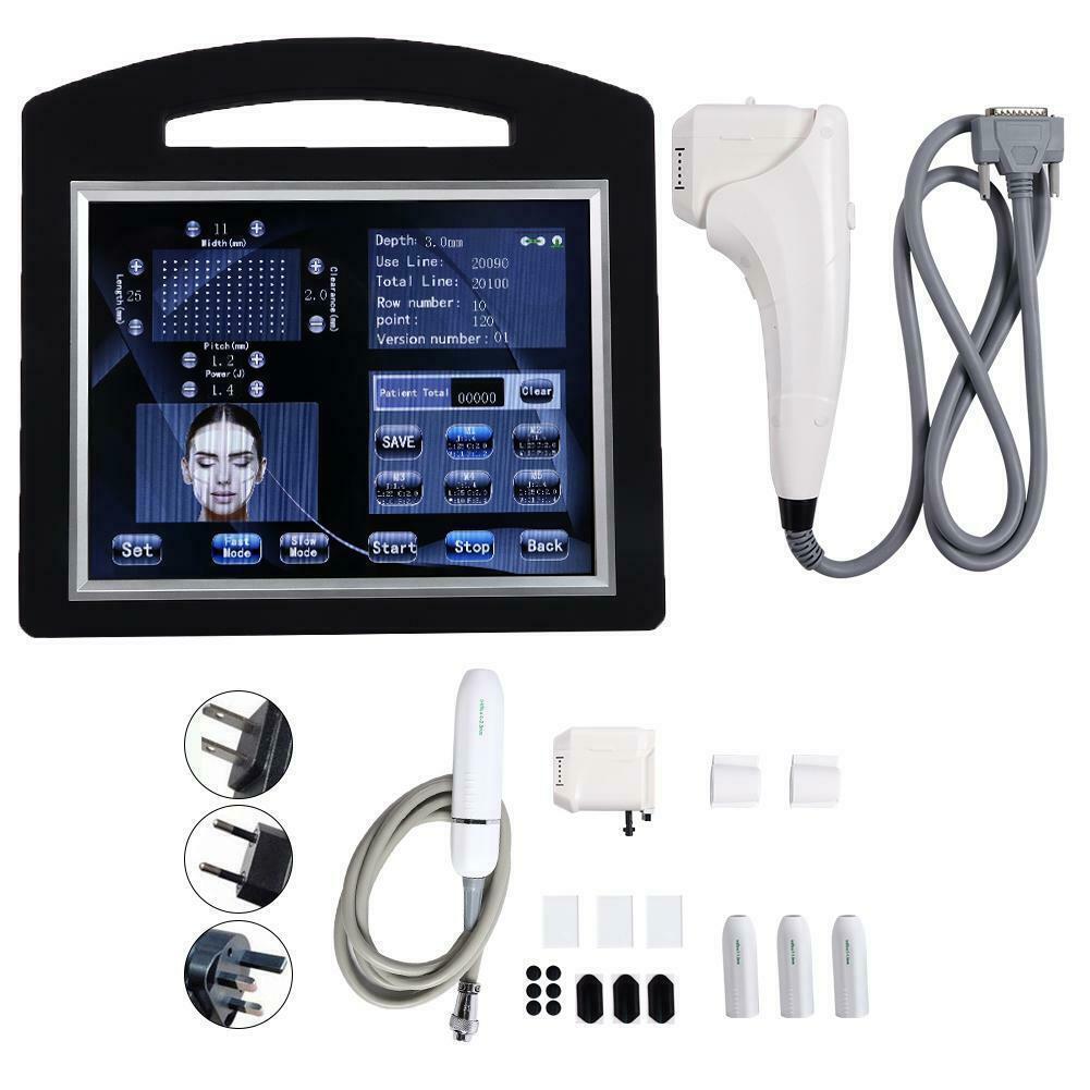 2020 أحدث المهنية 2 في 1 3D 4D 12 خطوط HIFU آلة VMAX الموجات فوق الصوتية HIFU الوجه الجلد رفع تشديد تنحيف الجسم