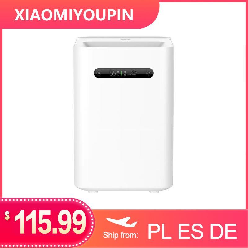 Xiaomi Smartmi Evaporation Air Humidifier 2 4L Large Capacity 99% Antibacterial Smart Screen Display For Mi Home Mijia APP Control