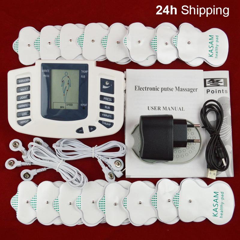 Soins de santé complets du corps Des dizaines Acupuncture électrique thérapie de massage Meridian physiothérapie Appareil de massage de style 7 Massager