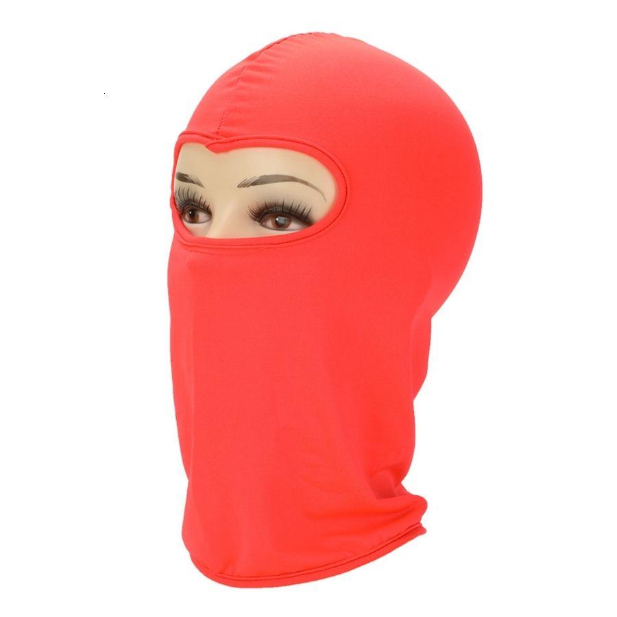 Soild Fashoion cor exterior equitação Máscara manter aquecido Windbreak Dustproof Chapelaria Partido Protecção Facial Beanie Hat Tta1948-1