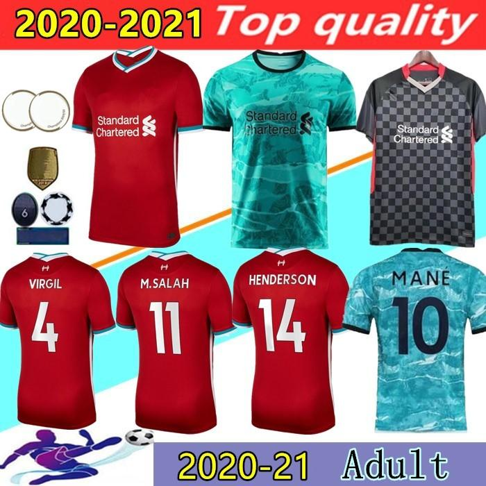 20 21 Top Thailand quality adult Soccer Jersey 2020 2021 maillots de football shirt
