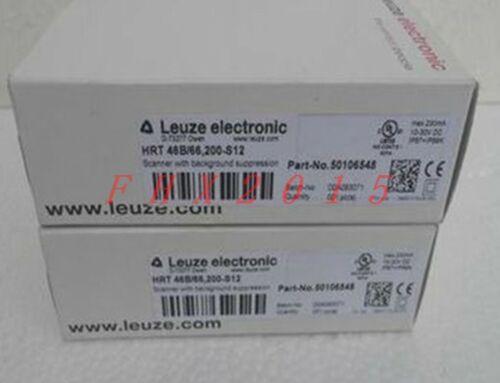 Один новый LEUZE датчики HRT 46B / 66200-S12