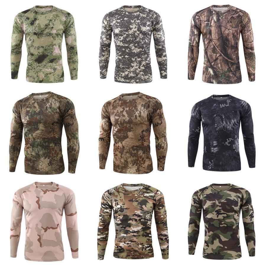 T-Shirts beiläufige Folk-Art-Druck-Männer-T-Shirts Langarm Männer Kleidung Weinlese Mens Designer # 105