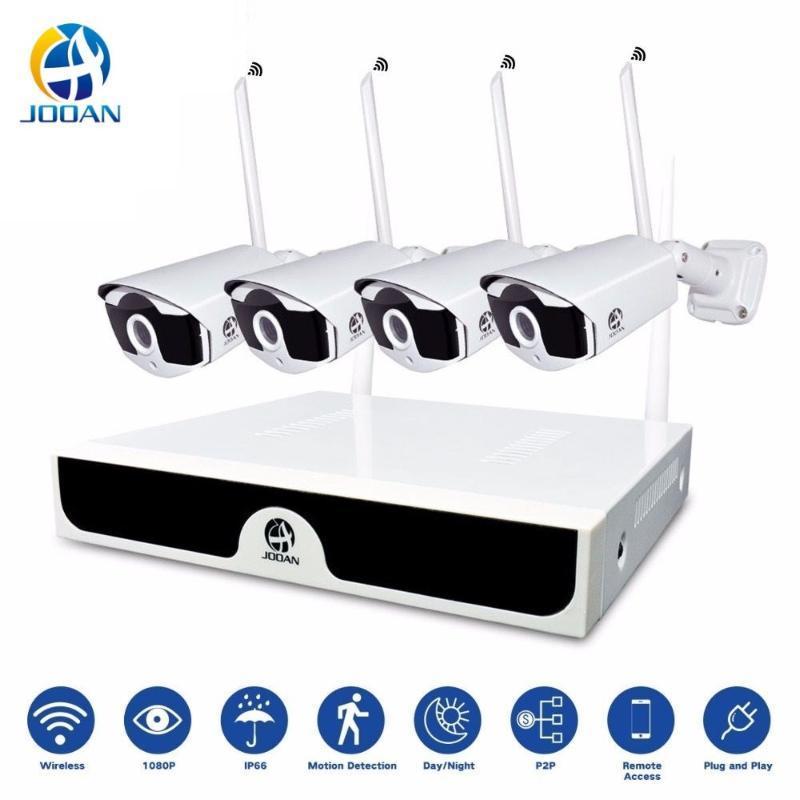 Kit CCTV Wireless Video Surveillance H.265 8CH NVR 4 Cameras Home Security System DVR Kit Outdoor IP Camera CCTV Camera System