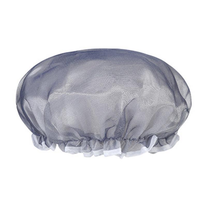 Pure Color Caper Cap Cap Pake Pair Pair Bash Caps с кружевной эластичной группой Reasable Hat для женщин Все длины волос и толщины 122074
