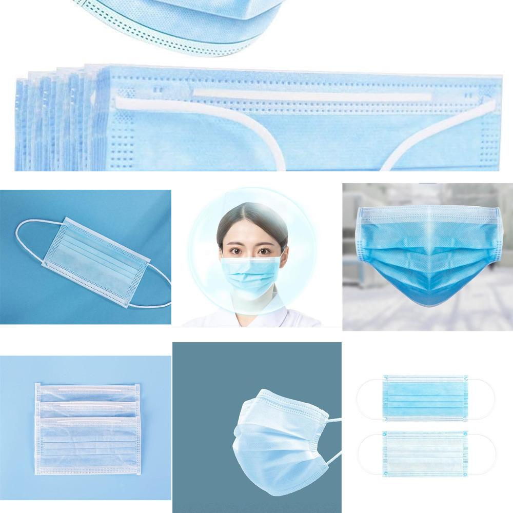 Maske Großhandel Activated Masken Freie Blue Smoke Filter Mouth Protect Anti l Mascherine # 9421
