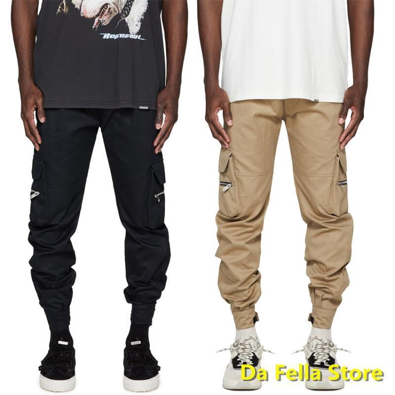 2020 Pantolon Temsil Pantolon Erkekler Kadınlar Yüksek Kalite Temsilci Kargo Pantolon Skinny Boyutu Hip Hop Pantolon Çok Cepler Tulum