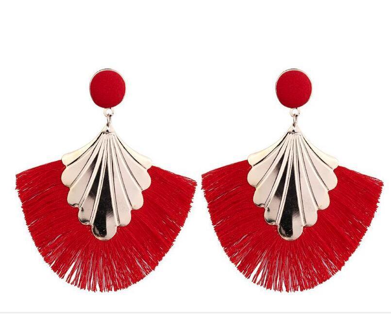 Signore orecchini Orecchini europei ed americani di nuovo modo creativo Zolfo modo degli orecchini monili di commercio estero WL694