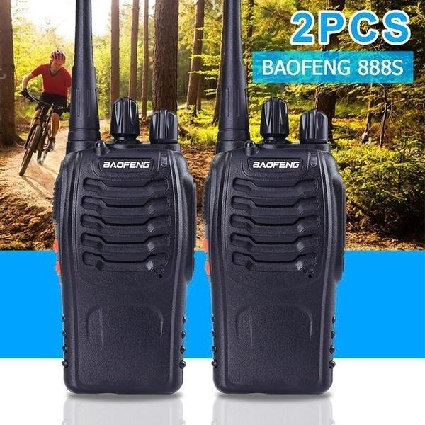 2 шт Баофэн BF-888S УВЧ 400-470 МГц 5W CTCSS двухсторонняя Ham Radio 16CH Walkie Talkie