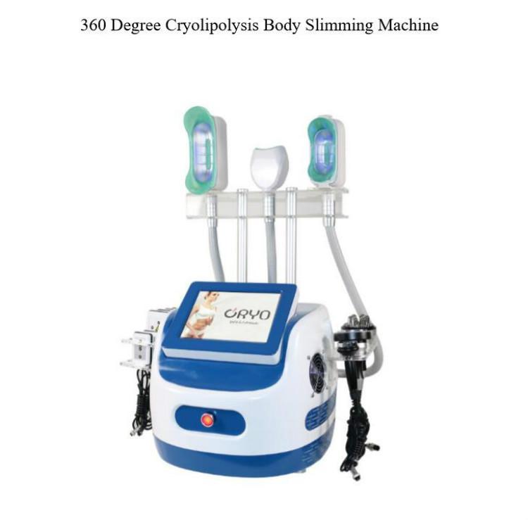 2020 360 ° récent cryolipolysis mince vide matériel minceur cryolipolysis cavitation multipolaires tripola RF peau rajeunissement du visage lift