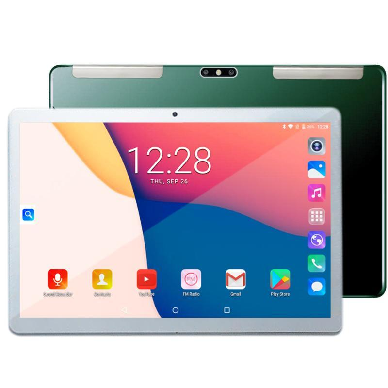 Tablet PC 2021 Arrival 4G Phone Call 10.1 Inch Glass Shell 4GB RAM Android GPS Octa Core 13MP+5MP Dual Camera