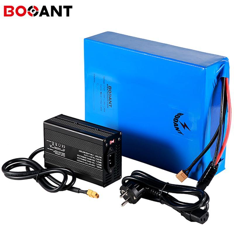 bicicleta eléctrica de la batería de litio de 48V 20Ah para Bafang BBSHD 1500W 2000W Motor EBIKE LG original, 18650 + 5A cargador